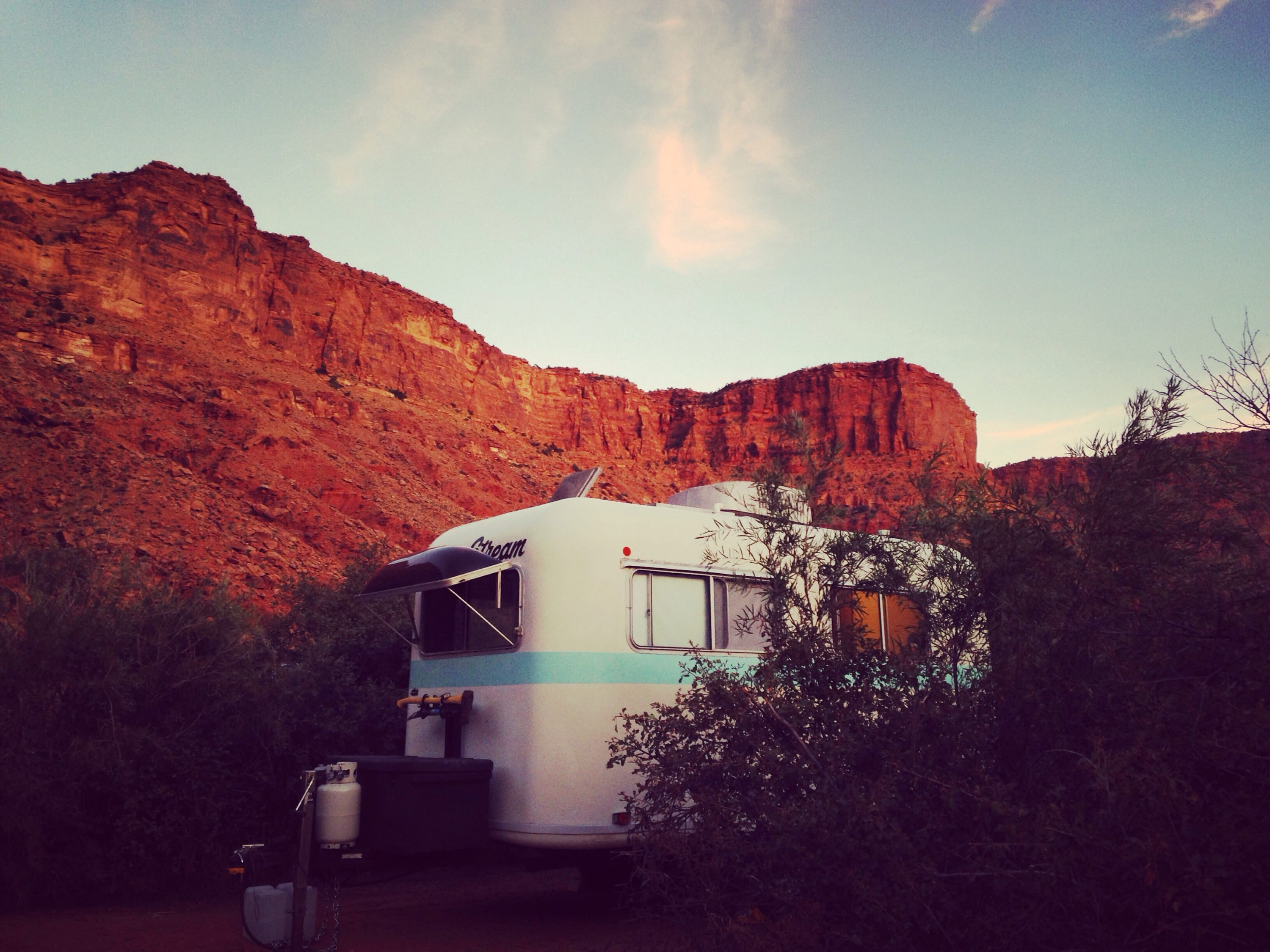 Boondocking in Big Bend Campground – Moab, UT
