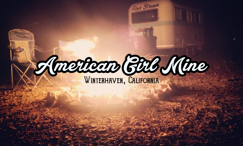 Boondocking at American Girl Mine – Winterhaven, California