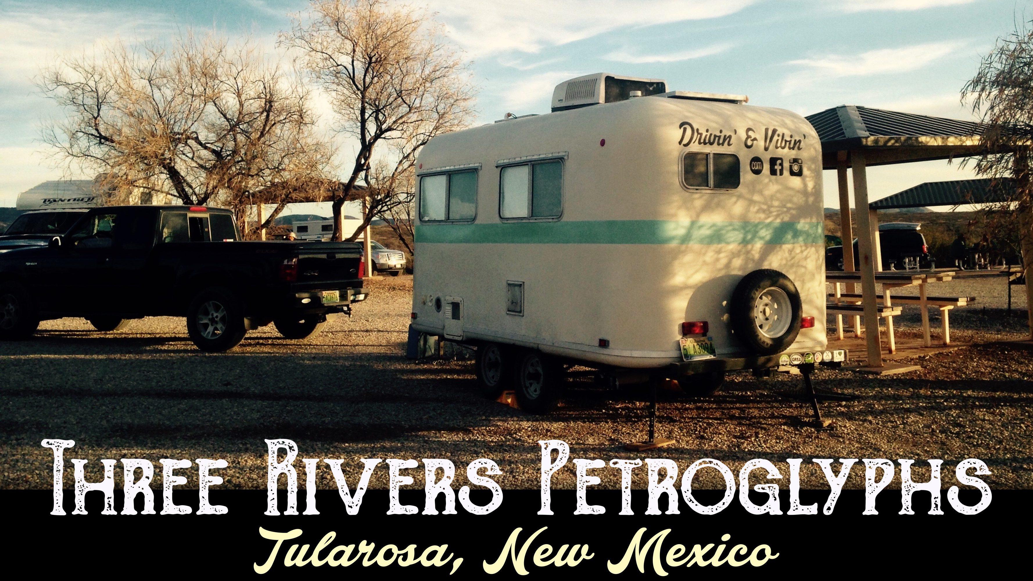 Three Rivers Petroglphys BLM Site – Tularosa, New Mexico