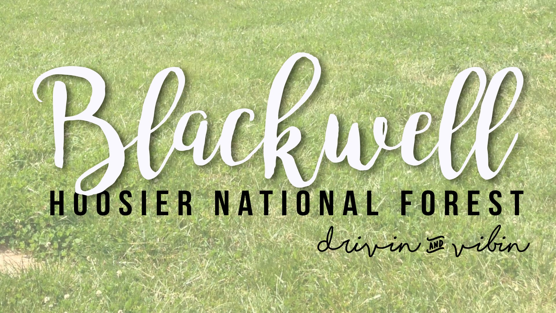 Boondocking at Blackwell Horse Camp – Hoosier National Forest
