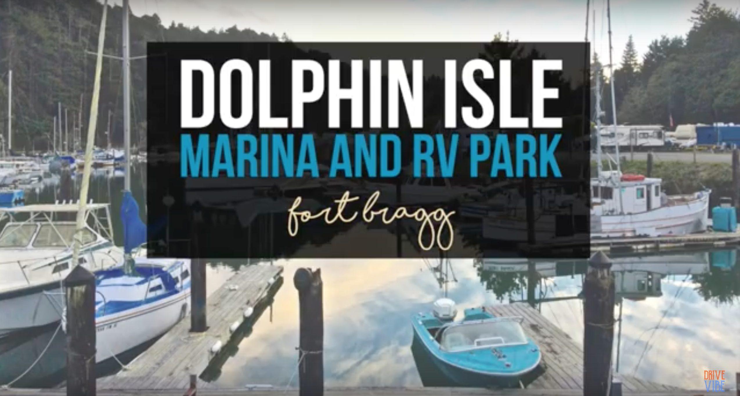 Dolphin Isle Marina & RV Park in Fort Bragg, California
