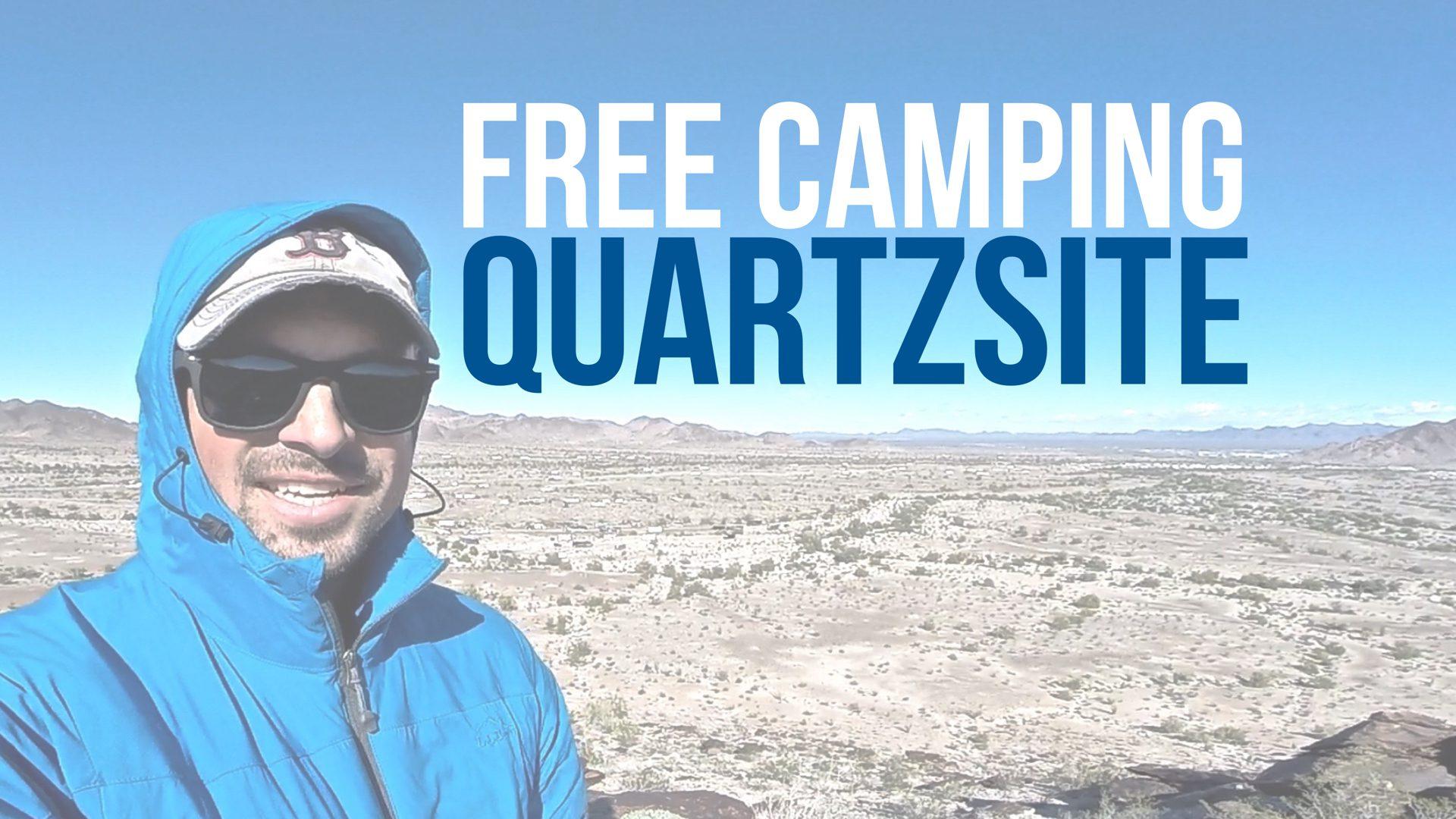 Free Camping in Quartzsite, Arizona // West Dome Rock Road
