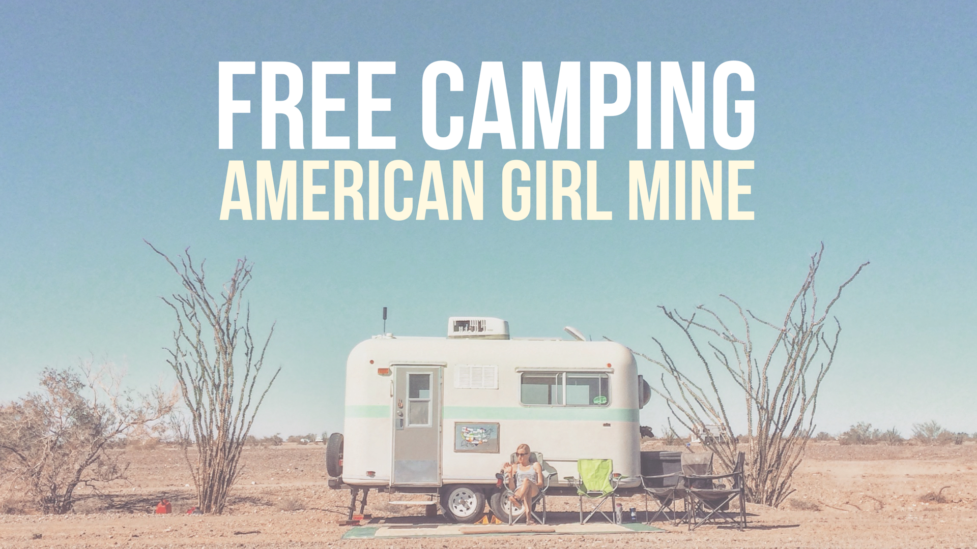 Free Camping at American Girl Mine in Southern California