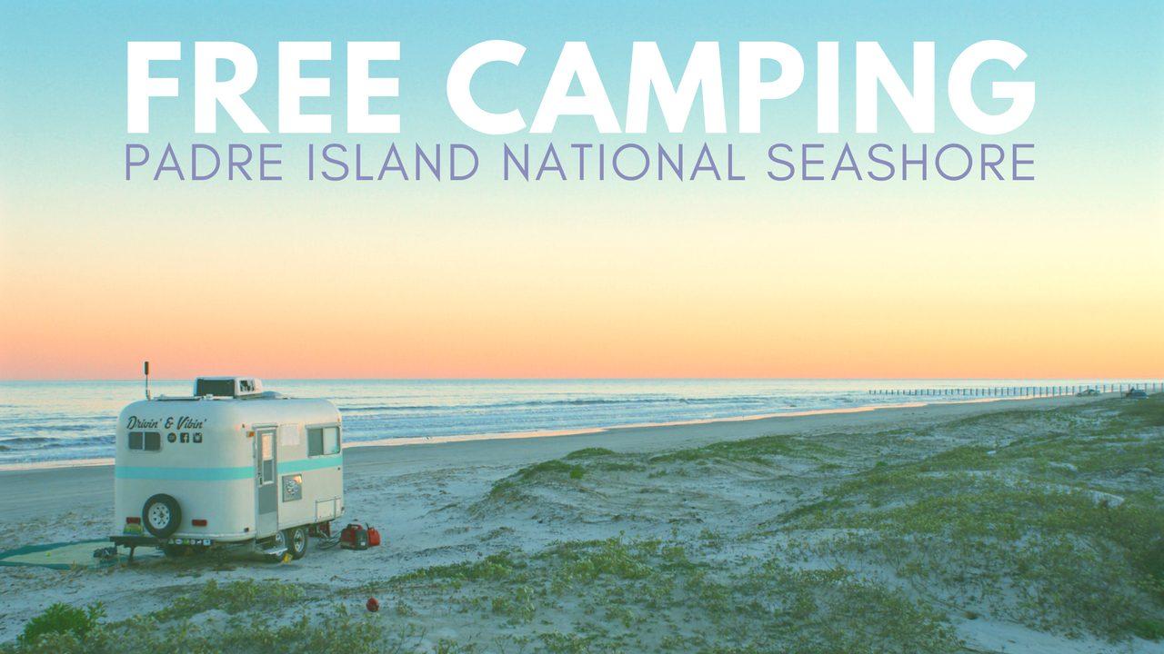 Free Camping on Padre Island National Seashore, Texas