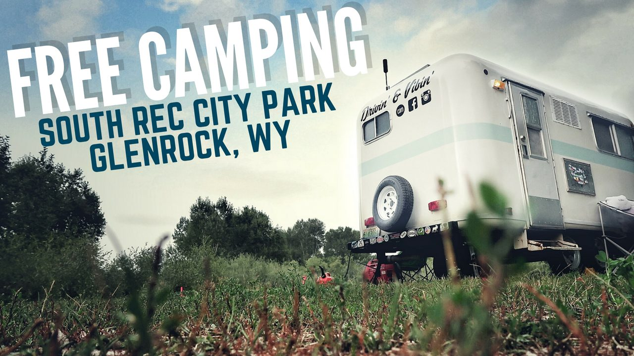Free Camping in Glenrock, Wyoming