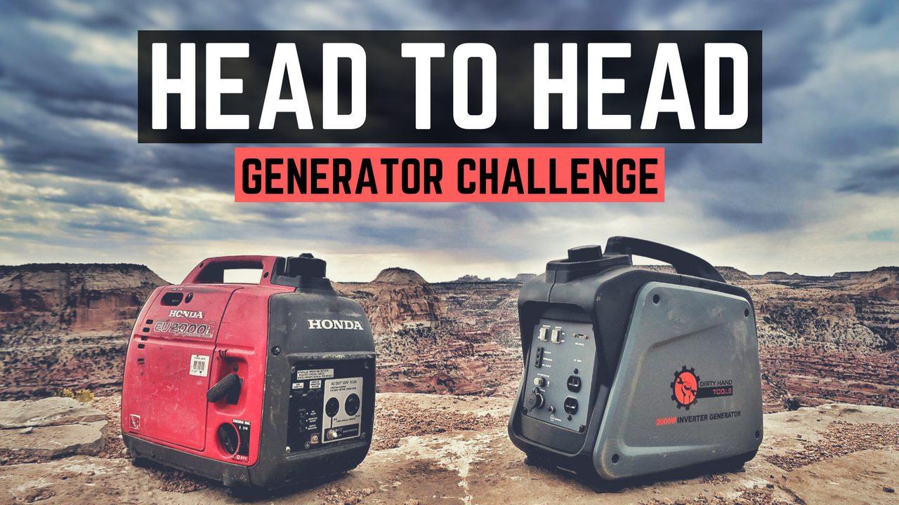 Honda vs. Dirty Hand Tools – 2000w Inverter Generator Comparison