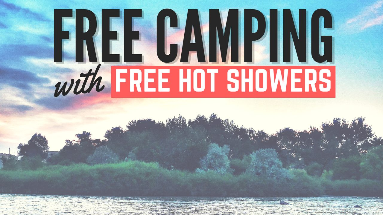 Free Camping with Free Hot Showers in Douglas, Wyoming
