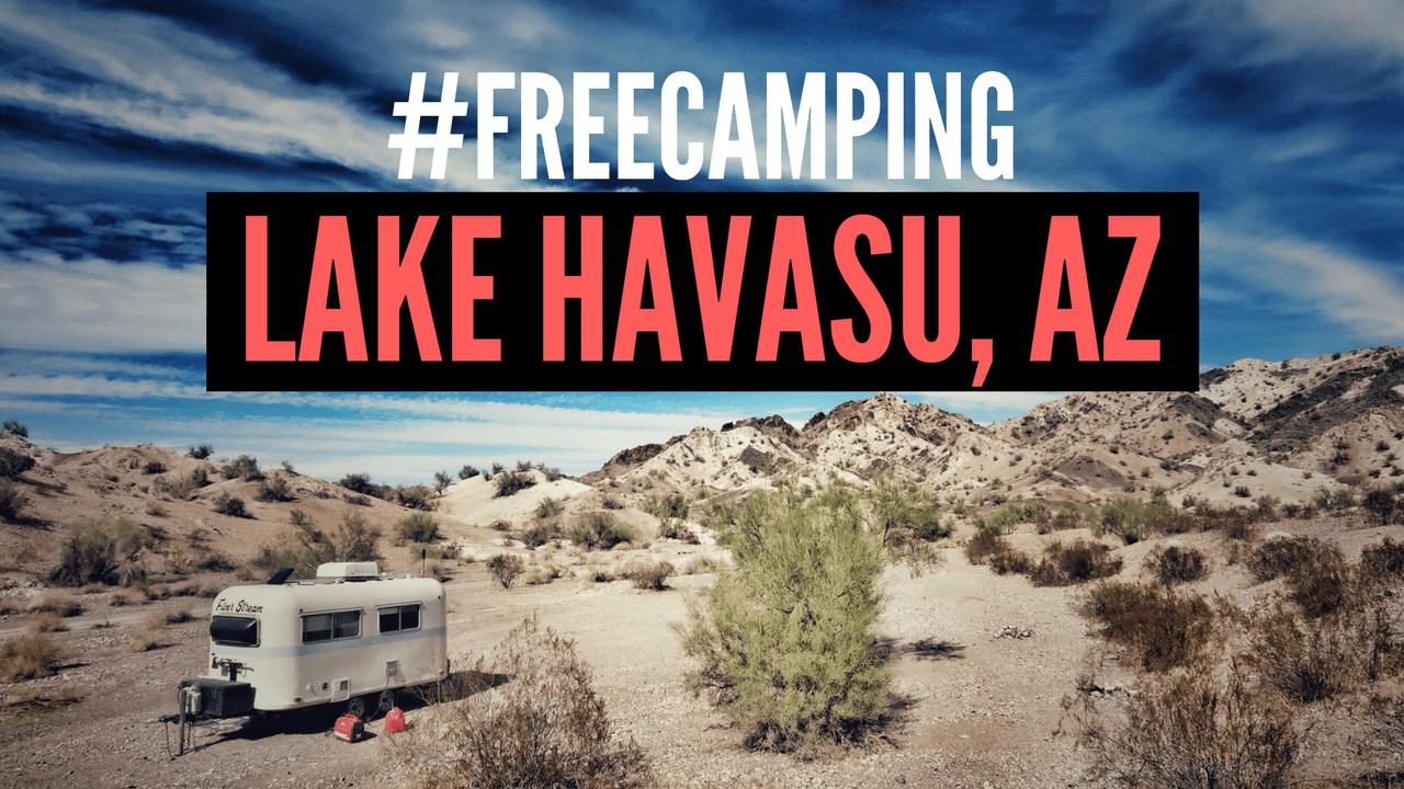 Free Camping in Lake Havasu City, Arizona