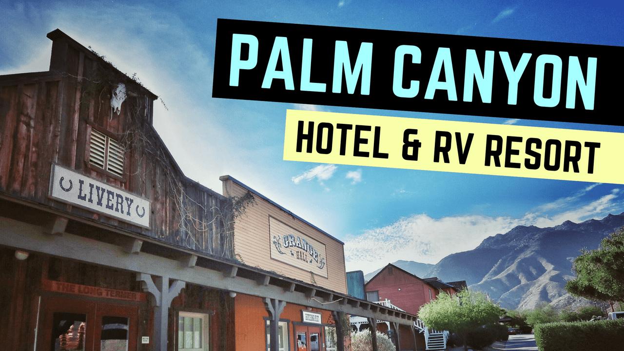 Palm Canyon Hotel & RV Resort in Borrego Springs, California