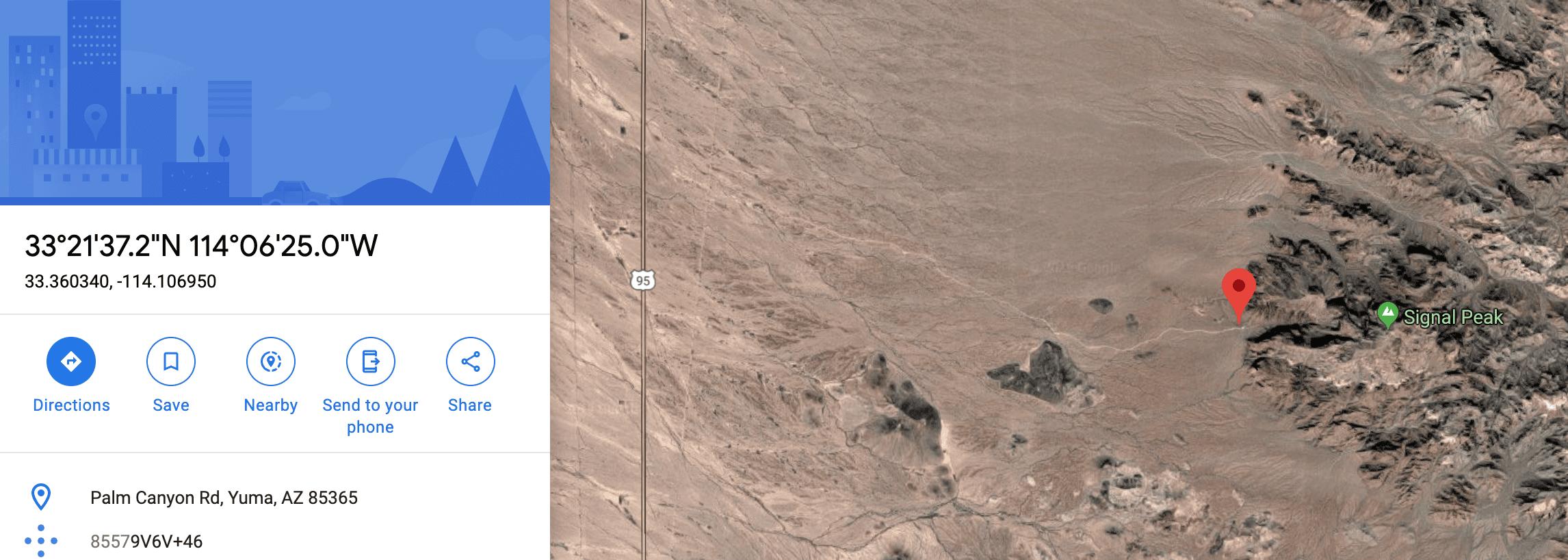 Satellite GPS - Camping Near Me