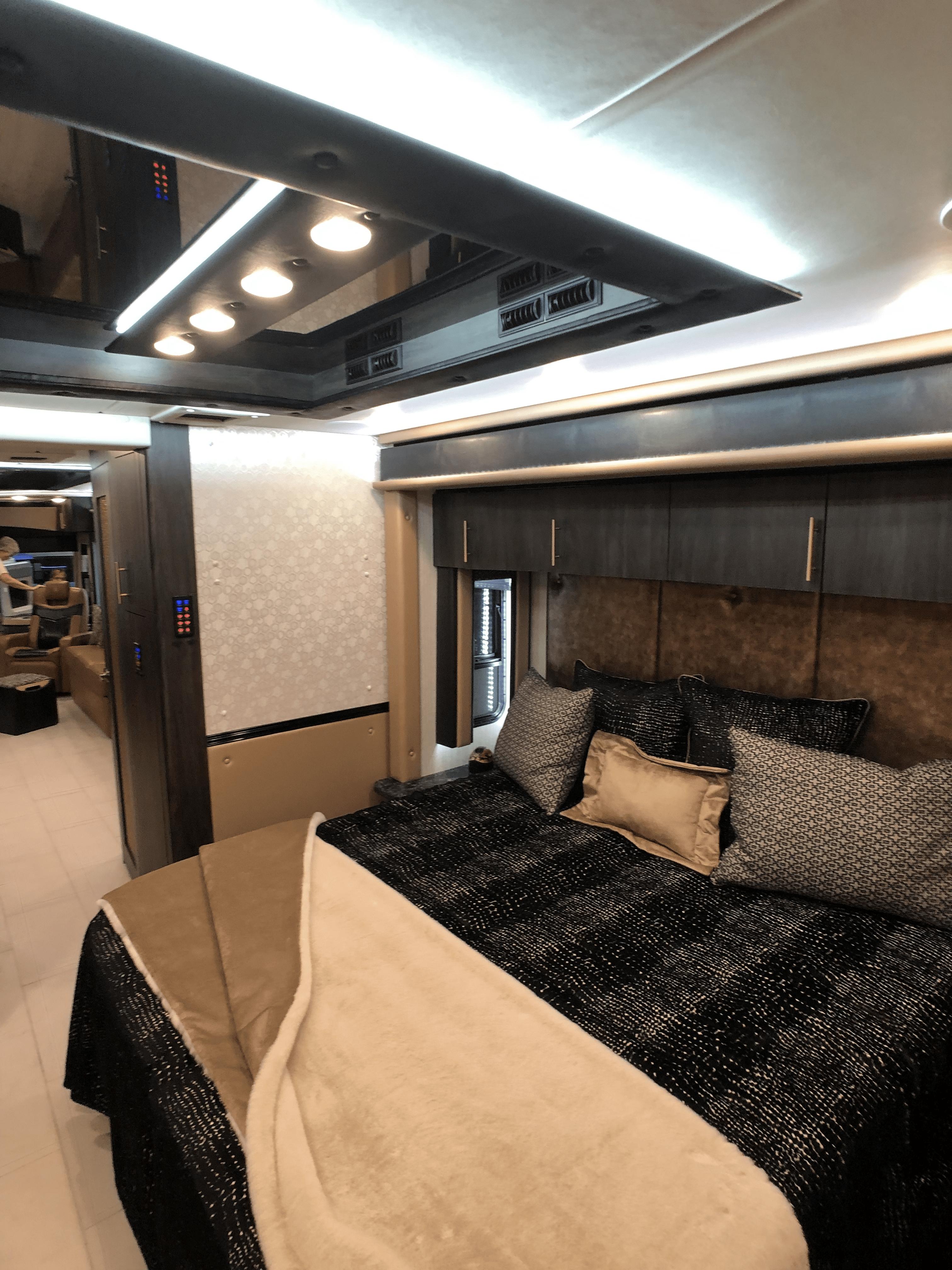 motorcoach bedroom