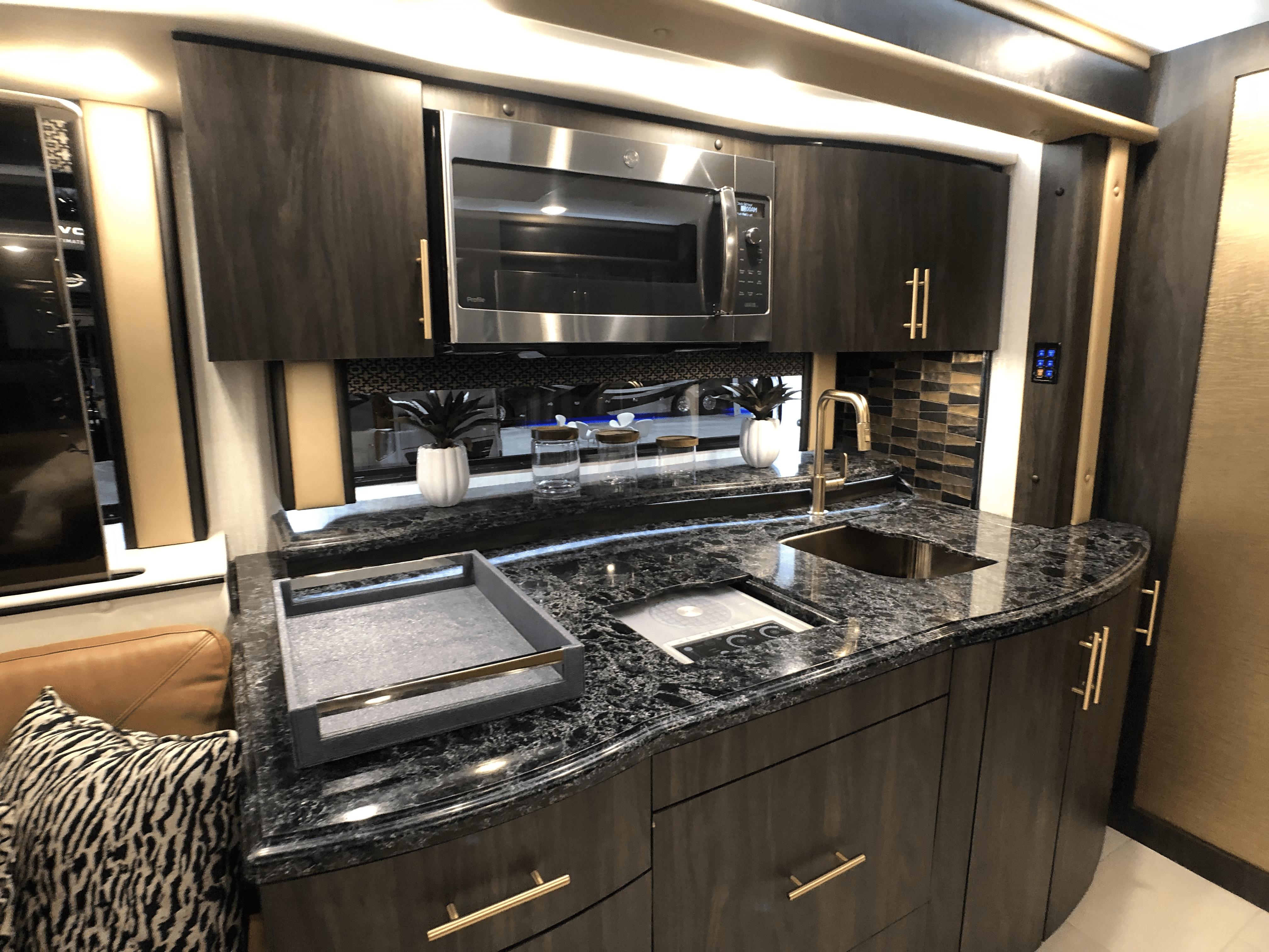motorcoach kitchen