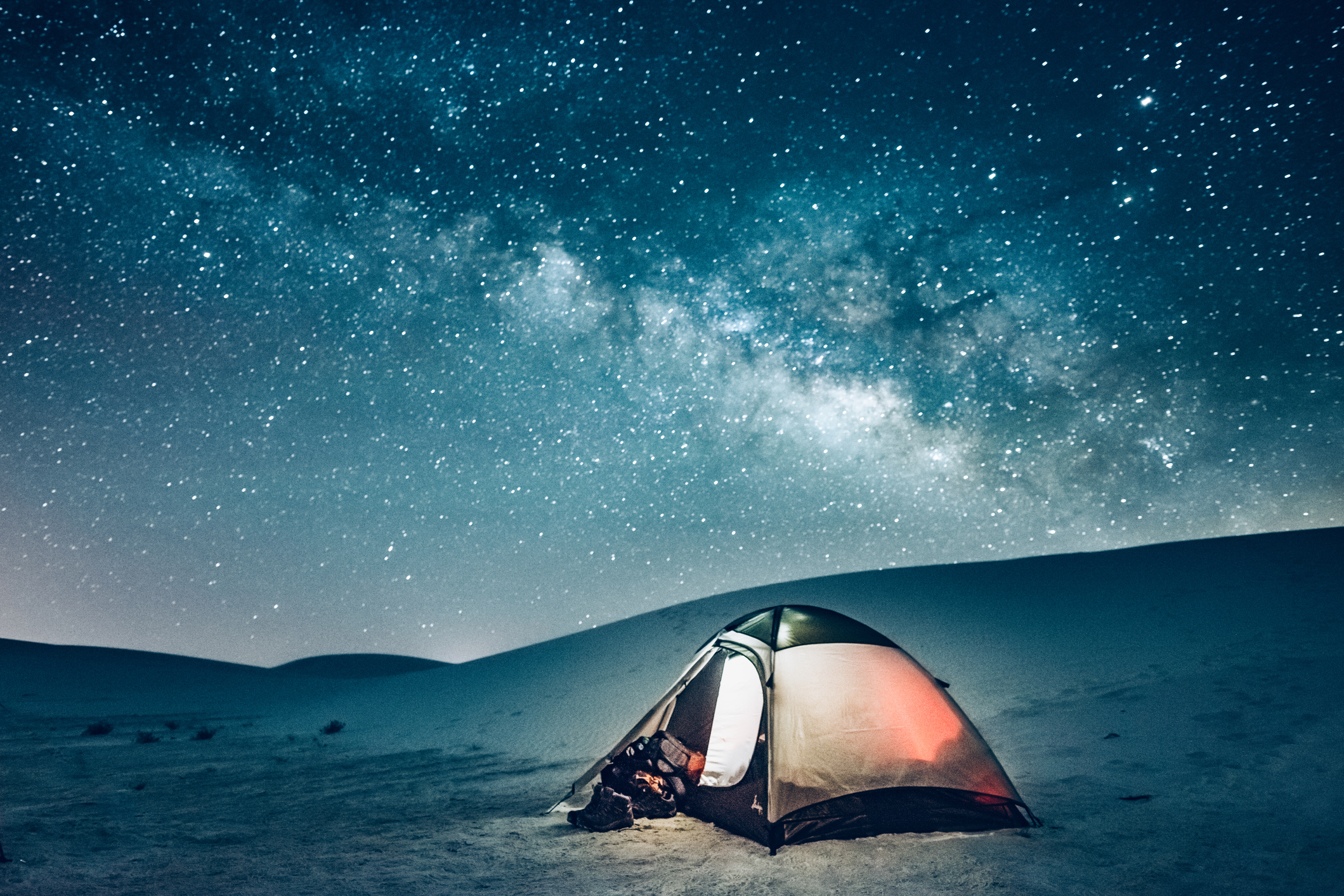 The Best Camping at White Sands National Park