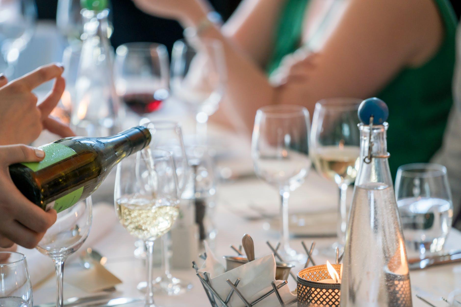 alcohol bar blur celebration