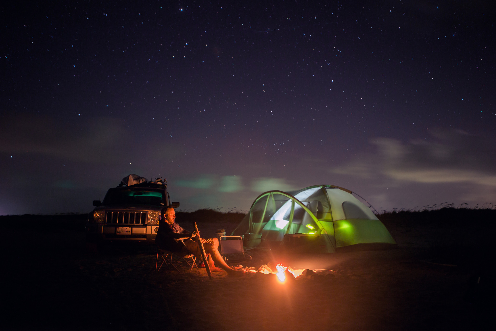 7 Spooky Campfire Podcasts for Your Next RV Trip