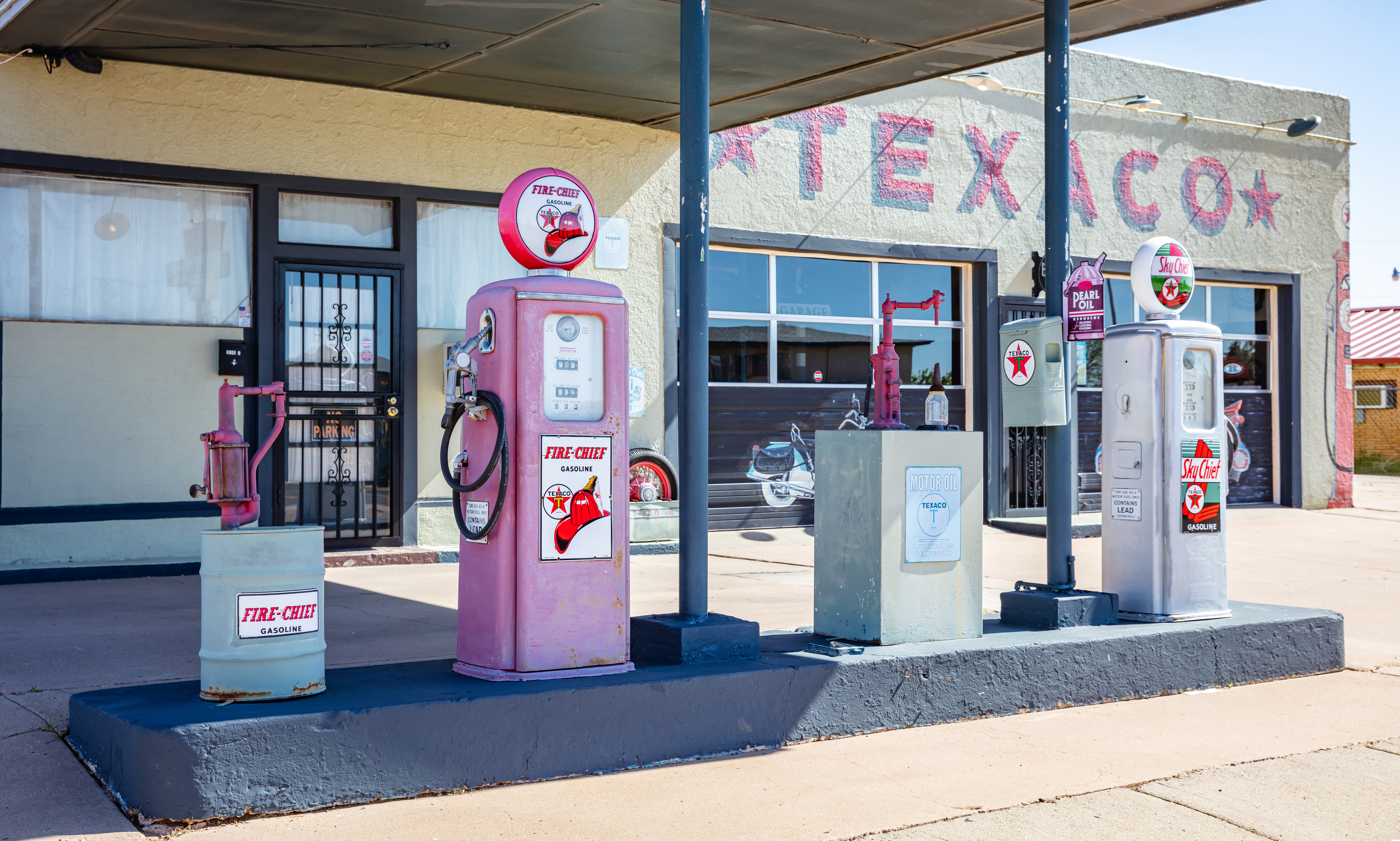 13 Vintage Gas Station Signs for Your RV (or Man Cave)