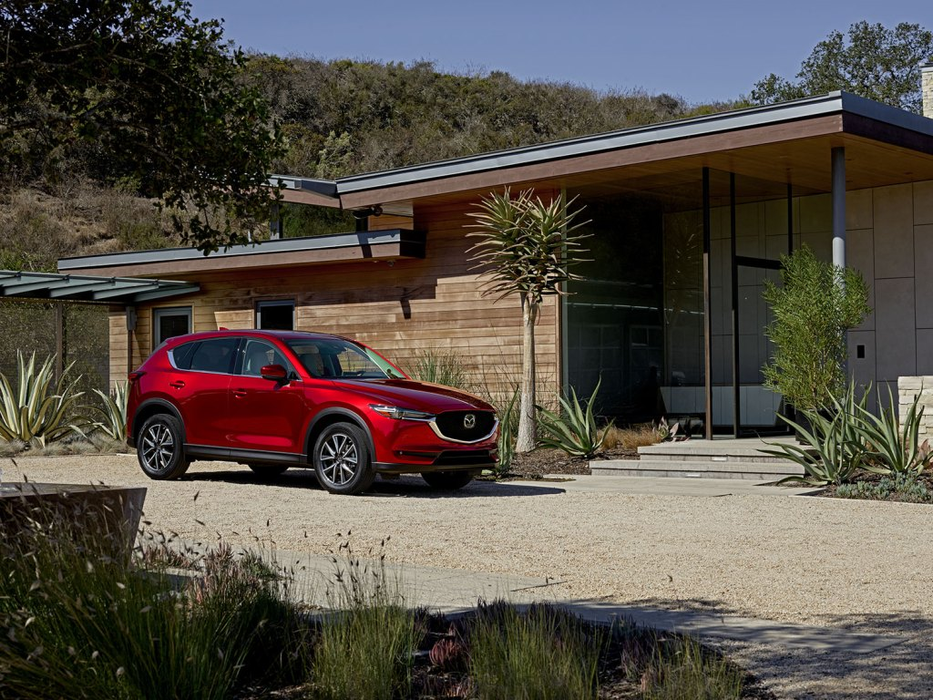 Mazda CX-5 is not an ideal tow vehicle.