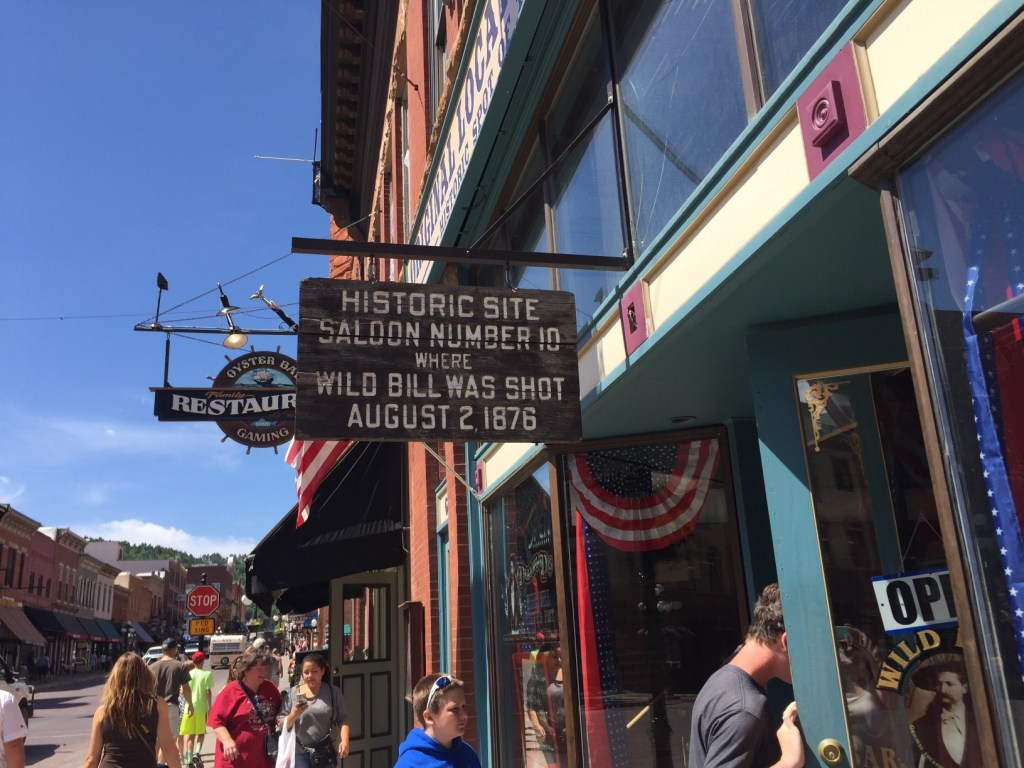 The heart of the Deadwood, South Dakota feels like it's right out of a movie.