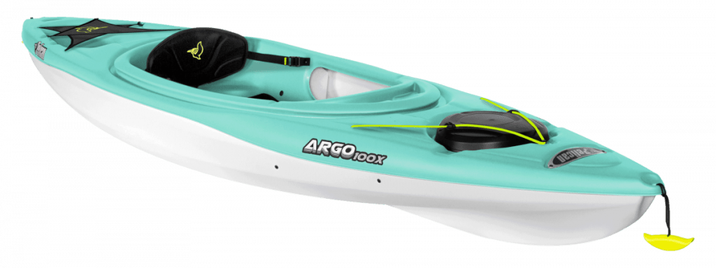 Pelican Sit-In series ideal for the paddler looking to enjoy a stable and relaxing kayaking experience during the cool or warm season.