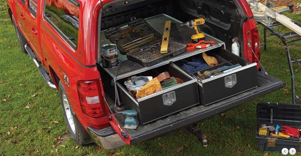 The Best Sliding Drawers For Your Truck Bed