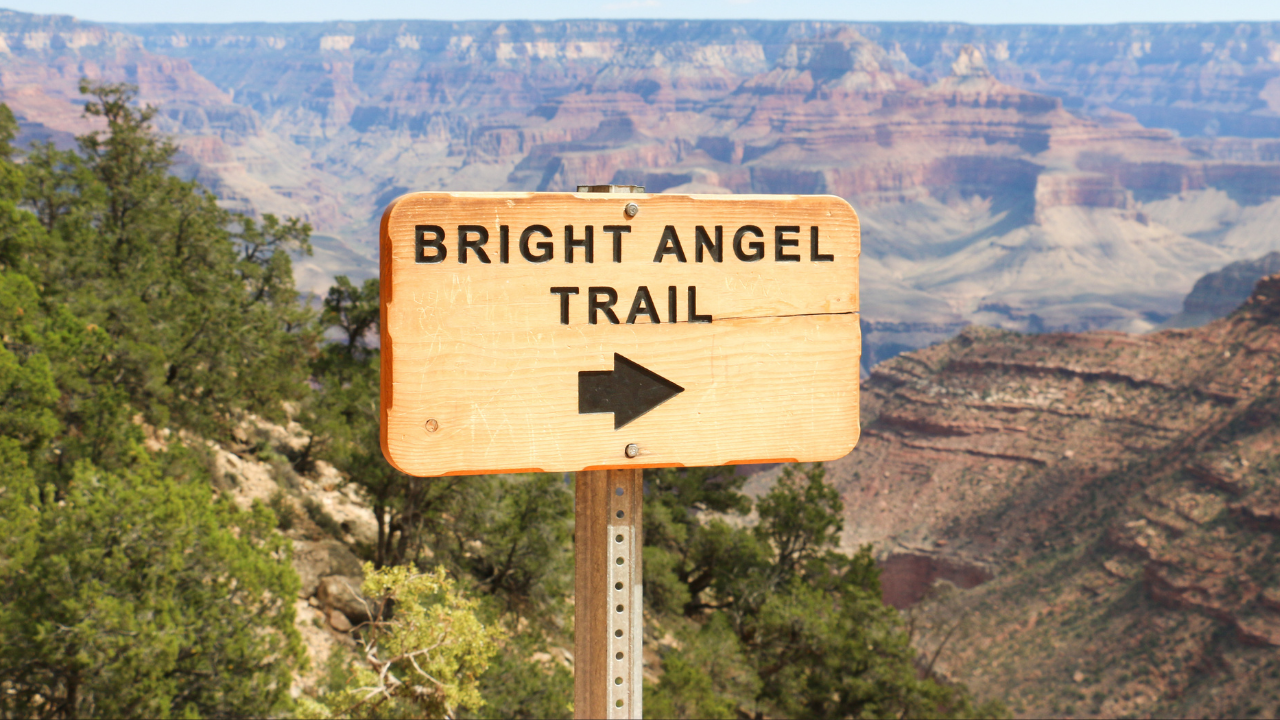 The Bright Angel Trail Guide for Hiking and Camping