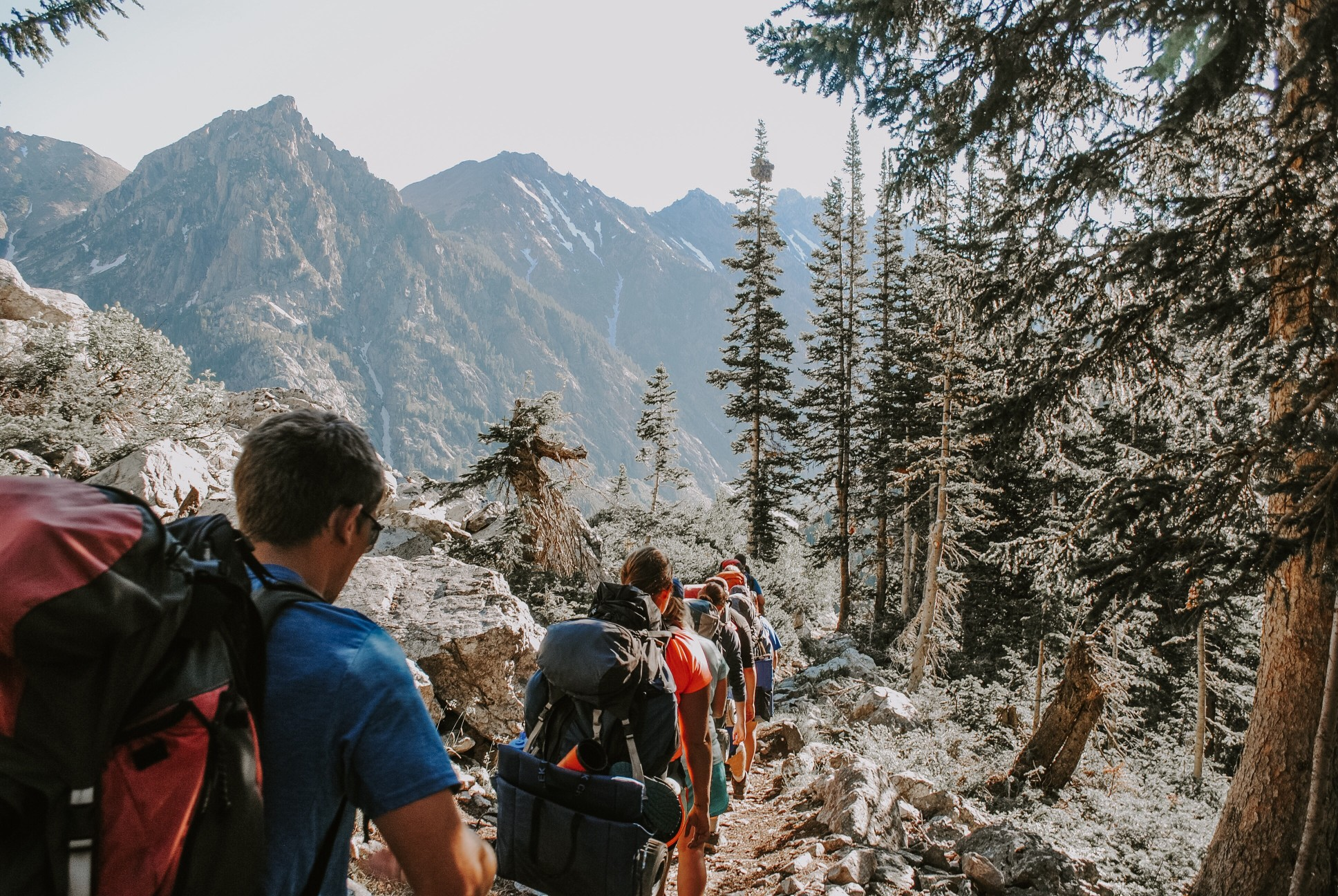 The Teton Crest Trail Guide For Hikers