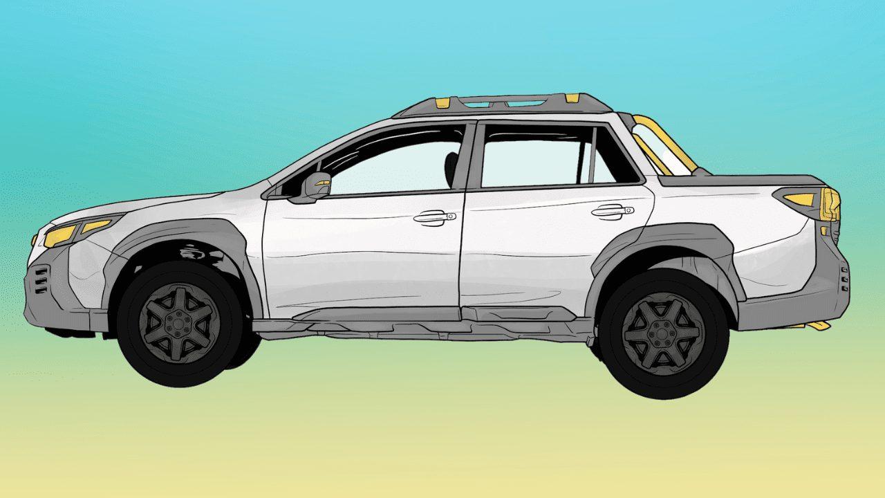 Can The Subaru Truck Tow a Camper Trailer?