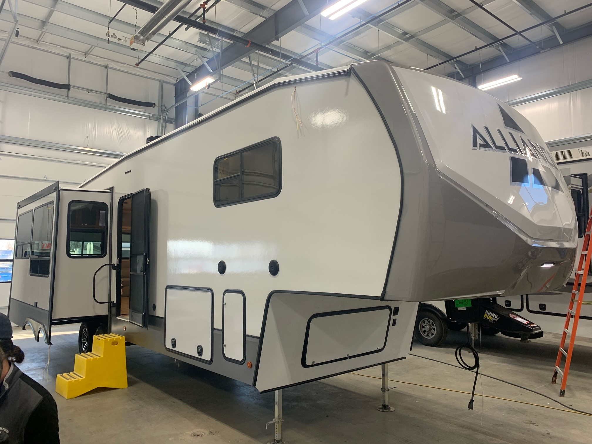 Manufacturer Shares Prototype of RV with Light Wood Interior