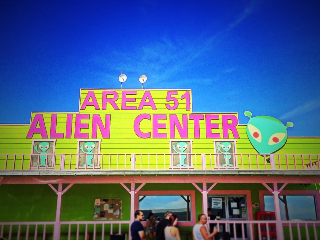 Street view of Area 51 Alien Center